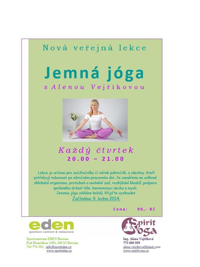 jemná joga