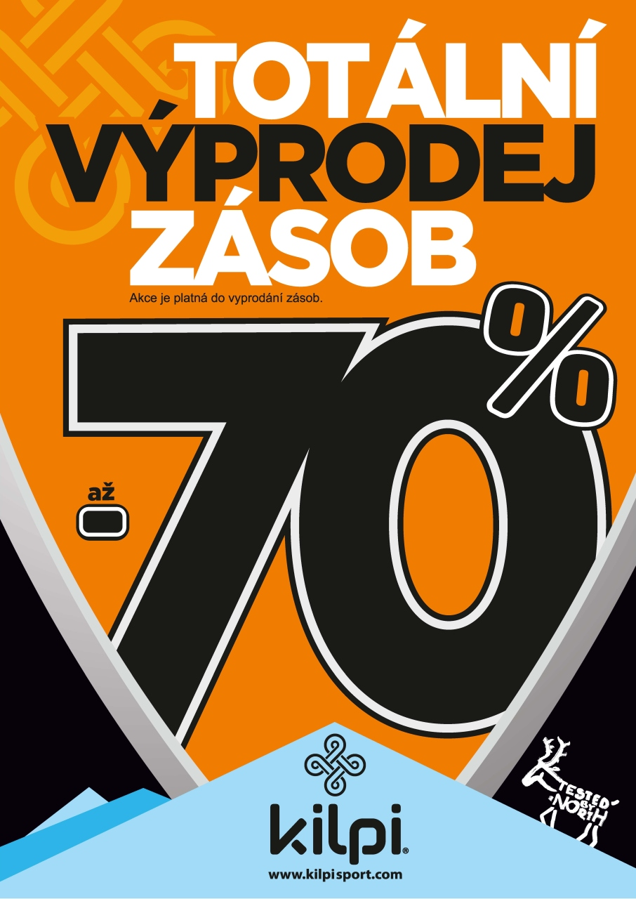 77a443c34f6 Totální výprodej zásob Kilpi -70% - Sportovní centrum Eden