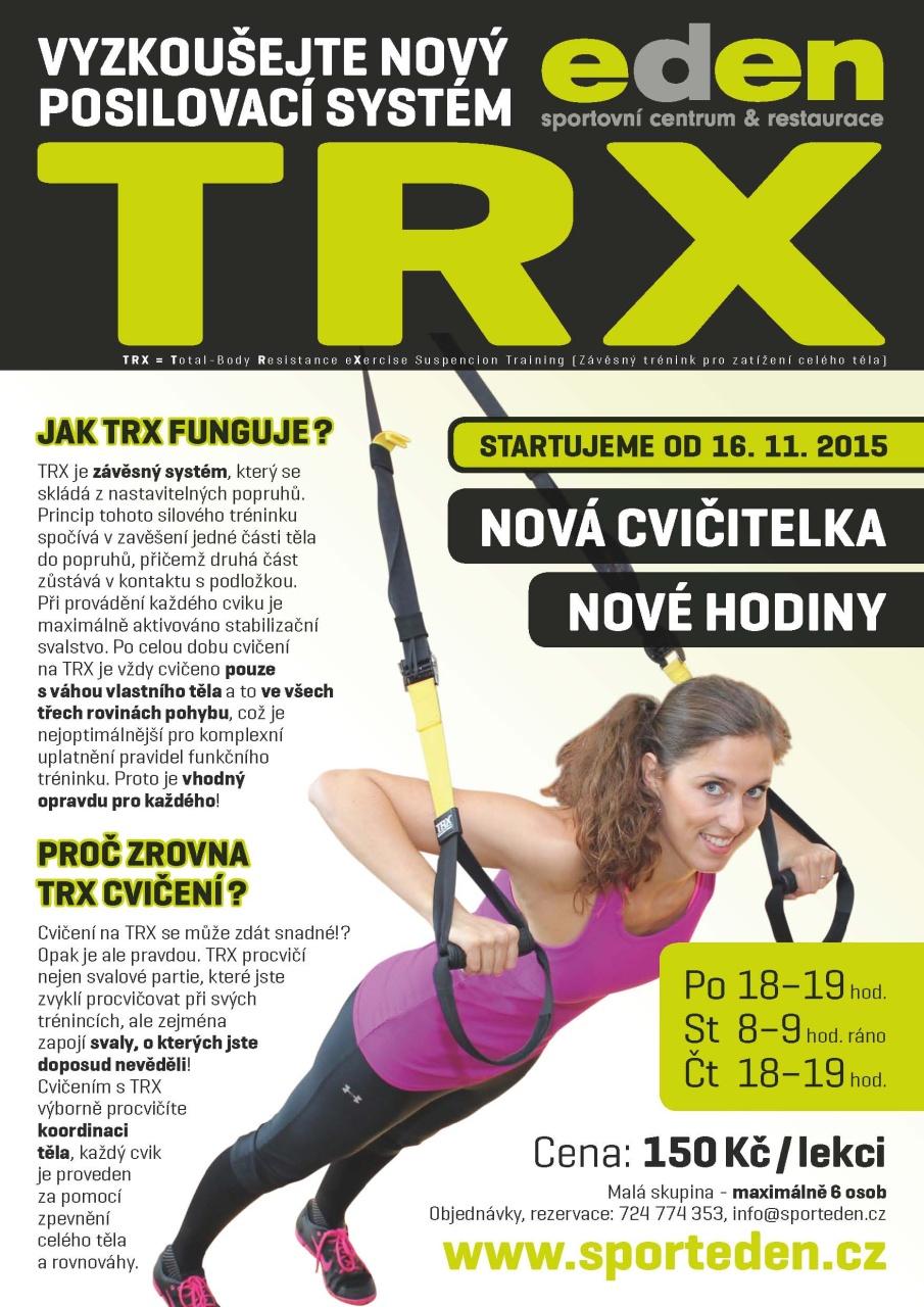 1511 EDEN Plakát TRX K1