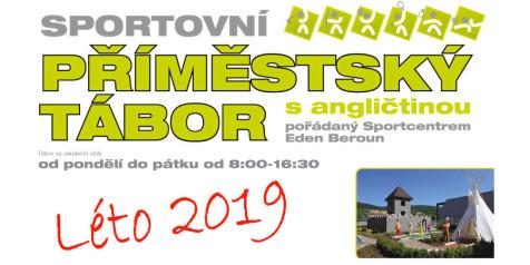 EDEN Příměstský tábor plakát 2019 banner