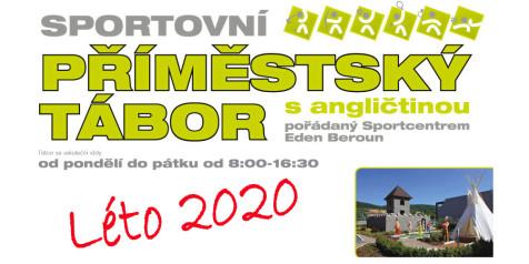 EDEN Příměstský tábor plakát 2020 banner